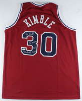 Bo Kimble Signed Jersey with Multiple Inscriptions (JSA COA) at PristineAuction.com
