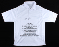 Ivan Lendl Signed Career Highlight Stat Shirt (JSA COA) at PristineAuction.com