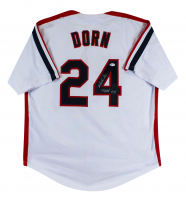 "Corbin Bernsen Signed Jersey Inscribed ""Dorn"" (Beckett COA) at PristineAuction.com"