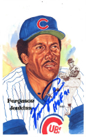 """Fergie Jenkins Signed LE Hall of Fame Perez-Steele Galleries Postcard Inscribed """"HOF 91"""" (PSA COA) at PristineAuction.com"""