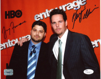 "Jerry Ferrara & Kevin Dillon Signed ""Entourage"" 8x10 Photo (JSA COA) at PristineAuction.com"