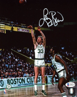 Larry Bird Signed Celtics 8x10 Photo (Beckett COA) at PristineAuction.com