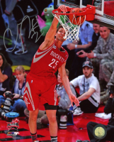 Chandler Parsons Signed Rockets 8x10 Photo (TriStar Hologram) at PristineAuction.com