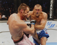 Chuck Liddell Signed UFC 16x20 Photo (Beckett COA) at PristineAuction.com