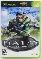 """Steve Downes & Jen Taylor Signed """"Halo"""" Xbox Video Game Case Inscribed """"Master Chief 117"""" & """"Cortana"""" (Radtke COA) at PristineAuction.com"""