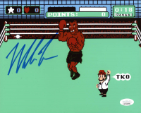 "Mike Tyson Signed ""Punch-Out!!"" 8x10 Photo (JSA COA) at PristineAuction.com"