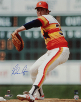 Nolan Ryan Signed Astros 16x20 Photo (AI Verified COA & Ryan Hologram) at PristineAuction.com