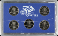 2004-S U.S. Mint 50 State Quarters Proof Set with (5) Coins at PristineAuction.com
