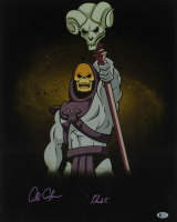 "Alan Oppenheimer Signed ""He-Man and the Masters of the Universe"" 16x20 Photo Inscribed ""Skeletor"" (Beckett COA) at PristineAuction.com"