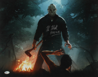 "Kane Hodder Signed ""Friday the 13th"" 16x20 Photo Inscribed ""Jason"" (Beckett COA) at PristineAuction.com"