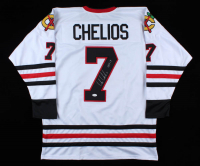 """Chris Chelios Signed Jersey Inscribed """"HOF 13"""" (JSA COA) at PristineAuction.com"""