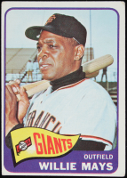 Willie Mays 1965 Topps #250 at PristineAuction.com