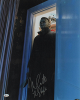 "Nick Castle Signed ""Halloween"" 16x20 Photo Inscribed ""The Shape"" (Beckett COA) at PristineAuction.com"
