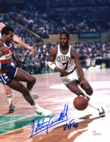 "Nate ""Tiny"" Archibald Signed Celtics 8x10 Photo Inscribed ""HOF 91"" (JSA COA) at PristineAuction.com"