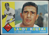 Sandy Koufax 1960 Topps #343 at PristineAuction.com