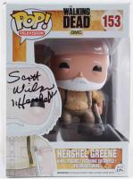"Scott Wilson Signed ""The Walking Dead"" #153 Hershel Greene Funko Pop! Vinyl Figure Inscribed ""Hershel"" (Beckett Hologram) at PristineAuction.com"