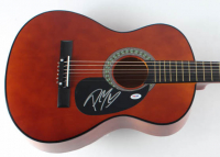 "Post Malone Signed 38"" Acoustic Guitar (PSA COA) at PristineAuction.com"