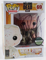 "Michael Rooker Signed ""The Walking Dead"" #69 Jesus Funko Pop! Vinyl Figure Inscribed ""Merle"" (Beckett COA) at PristineAuction.com"