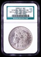 1883-O Morgan Silver Dollar - Binion Collection (NGC Brilliant Uncirculated) at PristineAuction.com