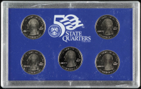 2003-S U.S. Mint 50 State Quarters Proof Set with (5) Coins at PristineAuction.com