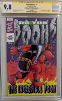 "Myrat Mychaels Signed 2019 ""Do You Pooh?"" LE Issue #1 Big Apple Comic Con Variant Counterpoint Comic Book (CGC 9.8) at PristineAuction.com"