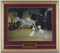 "Walt Disney's ""101 Dalmatians"" 16x18 Custom Framed (2) Piece Animation Sericel Display at PristineAuction.com"