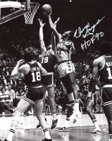 "Elvin Hayes Signed Bullets 8x10 Photo Inscribed ""HOF 90"" (JSA COA) at PristineAuction.com"
