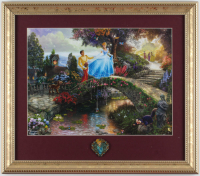 Disney Cinderella 14x16 Custom Framed Print Display at PristineAuction.com