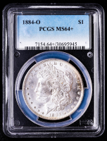 1884-O Morgan Silver Dollar (PCGS MS64+) (Toned) at PristineAuction.com