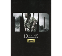 """Andrew Lincoln, Steven Yeun & Melissa McBride Signed 2015 Issue #14 """"The Walking Dead"""" Magazine (Beckett LOA) at PristineAuction.com"""
