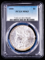 1888 Morgan Silver Dollar (PCGS MS63) (Toned) at PristineAuction.com