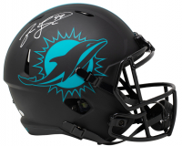 Jason Taylor Signed Dolphins Full-Size Eclipse Alternate Speed Helmet (JSA COA) at PristineAuction.com