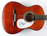 "Michael Anthony Signed 38"" Acoustic Guitar (PSA COA) at PristineAuction.com"