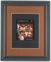 Muhammad Ali 13.25x16.25 Custom Framed Postage Stamp Sheet Display at PristineAuction.com