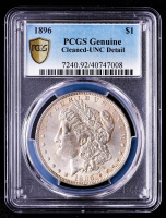 1896 Morgan Silver Dollar (PCGS UNC Details) at PristineAuction.com