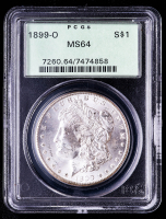 1899-O Morgan Silver Dollar (PCGS MS64) OGH at PristineAuction.com