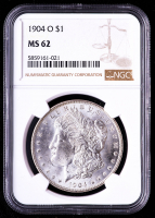 1904-O Morgan Silver Dollar (NGC MS62) at PristineAuction.com