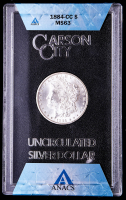 1884-CC Morgan Silver Dollar (ANACS MS63 - GSA Holder) at PristineAuction.com