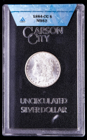 1884-CC Morgan Silver Dollar (ANACS MS63- GSA Holder) at PristineAuction.com