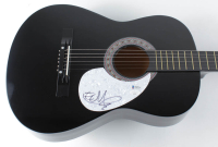 The Edge Signed Full-Size Acoustic Guitar (JSA COA & Beckett COA) at PristineAuction.com