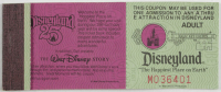 Disneyland Vintage Ticket Booklet with (11) Tickets at PristineAuction.com