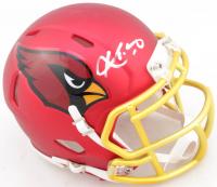Kyler Murray Signed Cardinals Blaze Speed Mini Helmet (Beckett COA) at PristineAuction.com