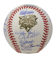 Yankees 2000 World Series Baseball Team-Signed by (29) with Derek Jeter, Mariano Rivera, Roger Clemens, Doc Gooden, David Cone, Andy Pettitte, Paul O'Neill, Willie Randolph, Derek Jeter, Mariano Rivera, Joe Torre (PSA LOA & Steiner COA) at PristineAuction.com