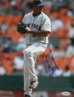Jorge Julio Signed Mets 8x10 Photo (Steiner COA) at PristineAuction.com