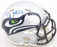 DK Metcalf Signed Seahawks AMP Atlernate Speed Mini Helmet (Beckett COA) at PristineAuction.com