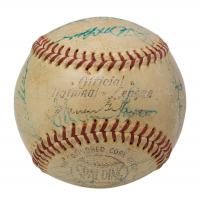 1964 Pirates ONL Baseball Team-Signed By (21) with Roberto Clemente, Danny Murtaugh, Vern Law, Don Clendenon, Willie Stargell (PSA LOA) at PristineAuction.com