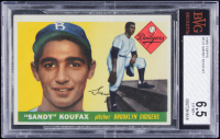 Sandy Koufax 1955 Topps #123 RC (BVG 6.5) at PristineAuction.com