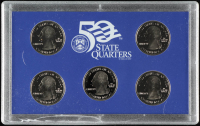 2005-S U.S. Mint 50 State Quarters Proof Set with (5) Coins at PristineAuction.com
