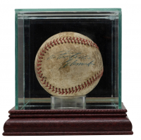 Roberto Clemente, Bill Mazeroski, & Bob Friend Signed Baseball With Display Case (PSA LOA) at PristineAuction.com