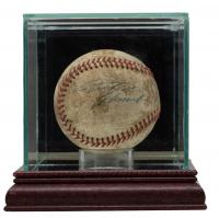 Roberto Clemente, Bill Mazeroski & Bob Friend Signed Baseball With Display Case (PSA LOA) at PristineAuction.com